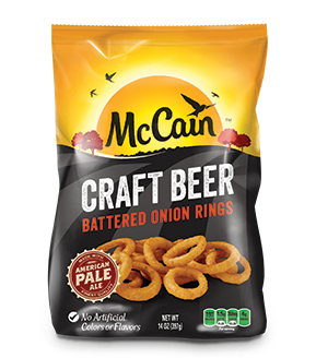 Craft Beer Battered Thin Cut Onion Rings