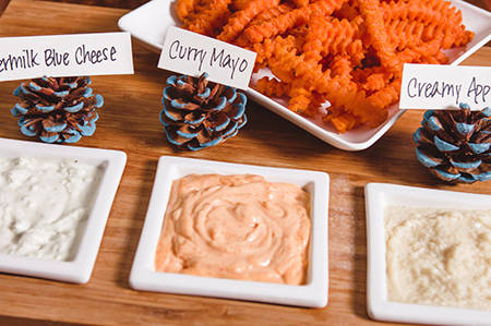 Sweet Potato Fries Dippers