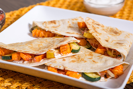 Sweet Potato Fry Quesadilla